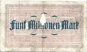 5,000,000 Mark (Essener Steinkohlenbergwerke) – reverse