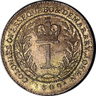 1 Gulden - George III – reverse