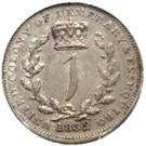 1 Gulden - William IV – reverse