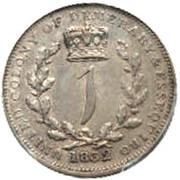 1 Gulden - William IV – reverse