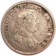 ½ Gulden - George III – obverse