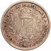 ½ Gulden - George III – reverse