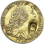 22 Gulden - George III – obverse