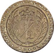 ½ Guilder - George III – reverse
