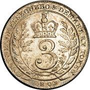 3 Guilder - George III -  reverse