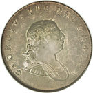 2 Gulden - George III – obverse