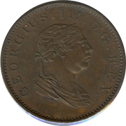 ½ Stiver - George III – obverse