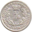 ⅛ Gulden - William IV – reverse