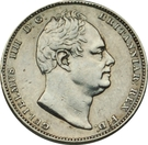 ½ Gulden - William IV – obverse