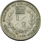 ½ Gulden - William IV – reverse