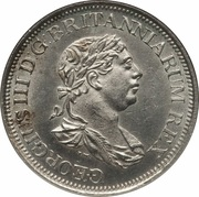 1 Guilder - George III – obverse