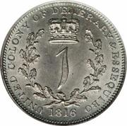 1 Guilder - George III -  reverse