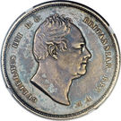 3 Gulden - William IV – obverse