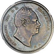 3 Gulden - William IV – obverse