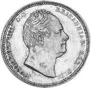 2 Guilder - William IV -  obverse