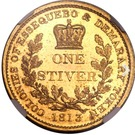 1 Stiver - George III (Trial Strike) – reverse