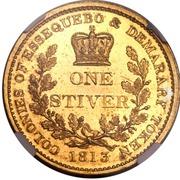 1 Stiver- George III (Trial Strike) – reverse