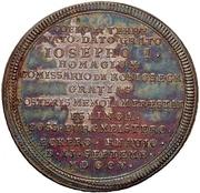 Medal - Hommage to the new emperor Joseph I. (Esslingen) – reverse