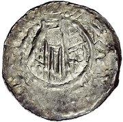 1 Denar - Heinrich III. – reverse