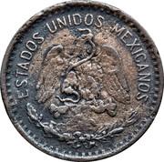 20 Centavos (Toluca - Countermarked) – obverse