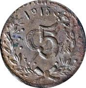 5 Centavos (Tenancingo) – reverse
