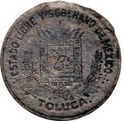 5 Centavos (Toluca) – obverse