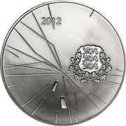 12 Euro (2012 London Olympics) – obverse
