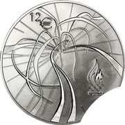 12 Euro (2012 London Olympics) – reverse