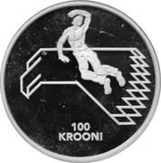 100 Krooni (Independence) – reverse