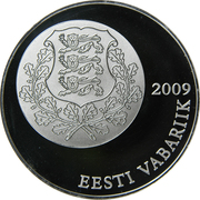 10 Krooni (Estonian Song and Dance Festivals) – obverse