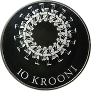 10 Krooni (Estonian Song and Dance Festivals) – reverse