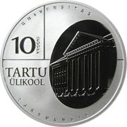 10 Krooni (University of Tartu) – reverse