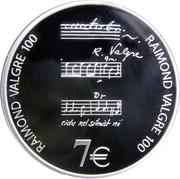 7 Euro (Raimond Valgre) -  reverse