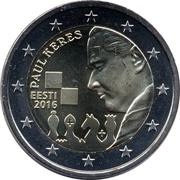 2 Euro (Paul Keres) -  obverse