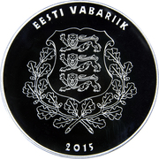 10 Euro (Eduard Vilde) – obverse