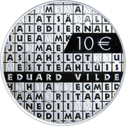 10 Euro (Eduard Vilde) – reverse
