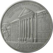 2 Krooni (University of Tartu) – reverse