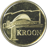 1 Kroon (Song festival) – reverse