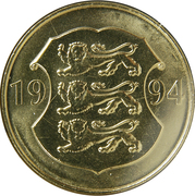 5 Krooni (National Bank) -  obverse