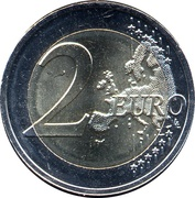 2 Euro (Road to Independence) – reverse