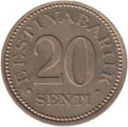 20 Senti – reverse