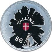8Euro (Hanseatic Tallinn) – reverse