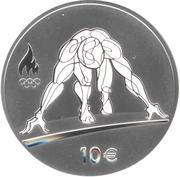 10 Euro (XXXI Olympics) – reverse