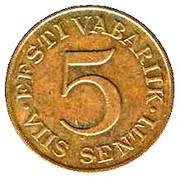 5 Senti – reverse
