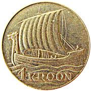 1 Kroon – reverse