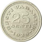 25 Senti – reverse
