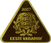 100 Krooni (Estonian Kroon) – obverse