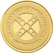 100 Krooni (Estonian Kroon) – reverse