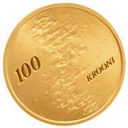 100 Krooni (Estonian People) – reverse