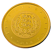 100 Euro (Centenary of the Republic of Estonia) – obverse